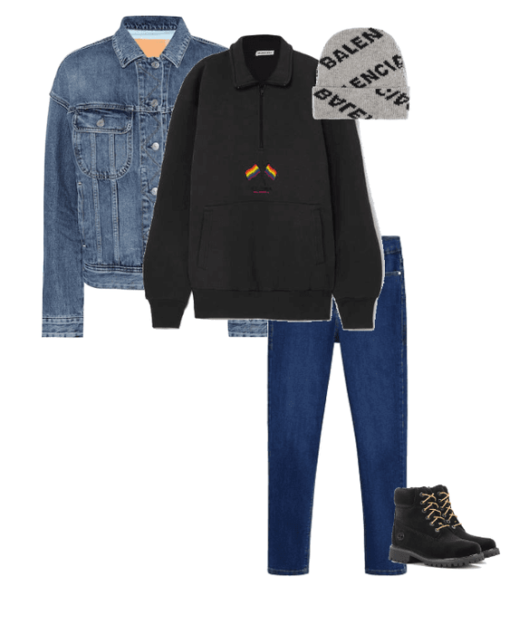 Winter Dark Jean
