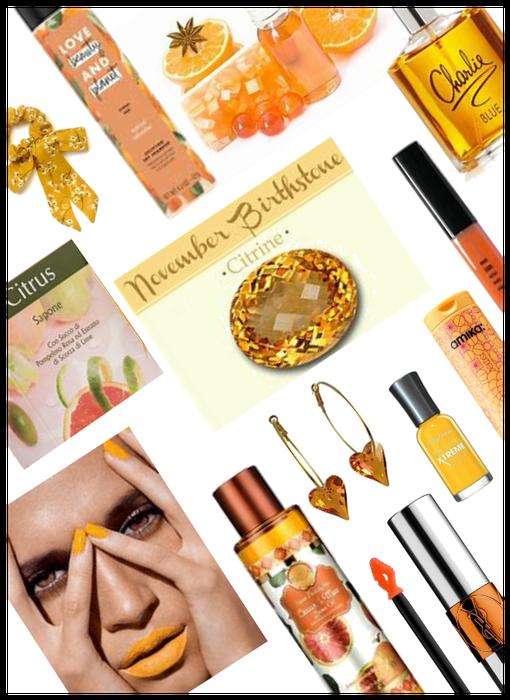 Nov/Scorpio Contest. Citrine Beauty/Accessories