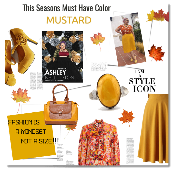 THIS SEASONS MUST HAVE COLOR: MUSTARD