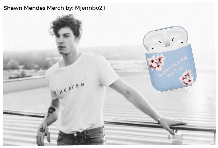 Shawn Mendes New Merch Creation Airpods