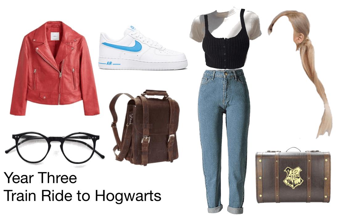 Year Three - Train Ride to Hogwarts