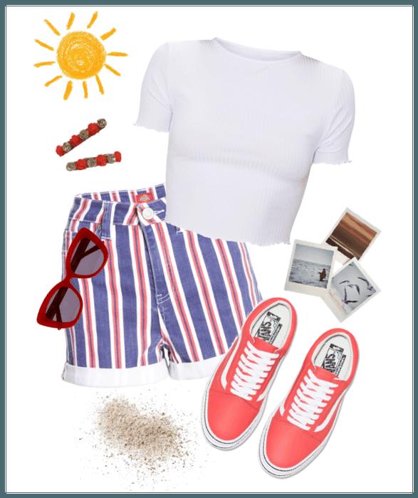 Summer Boardwalk Outfit