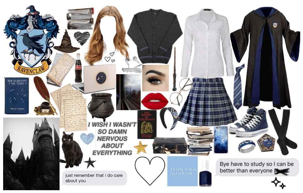 Harry Potter:Ravenclaw Girl