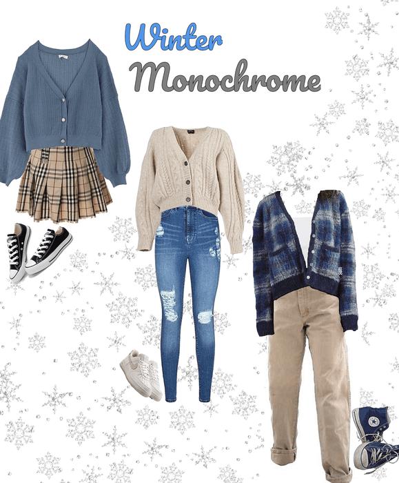 ❄️Winter Monochrome!❄️