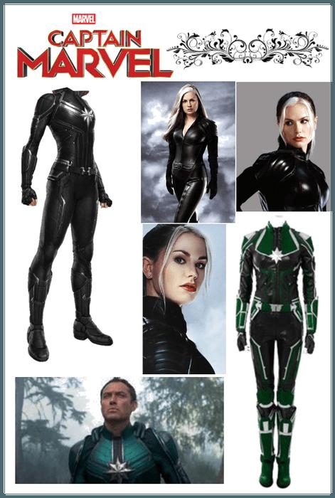 Captain Marvel Oc