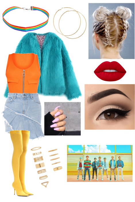 Jina's DNA outfit