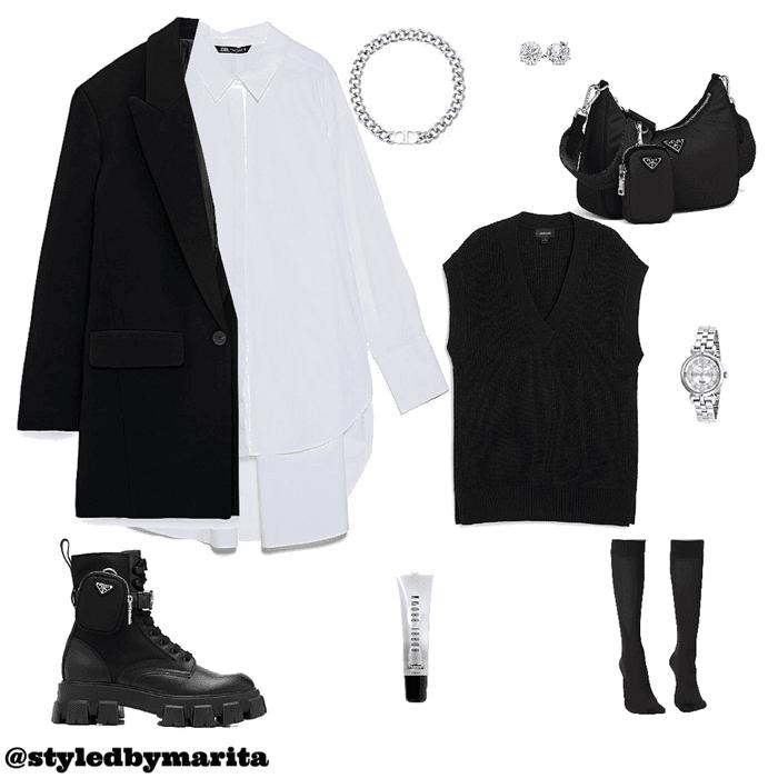 minimalist black