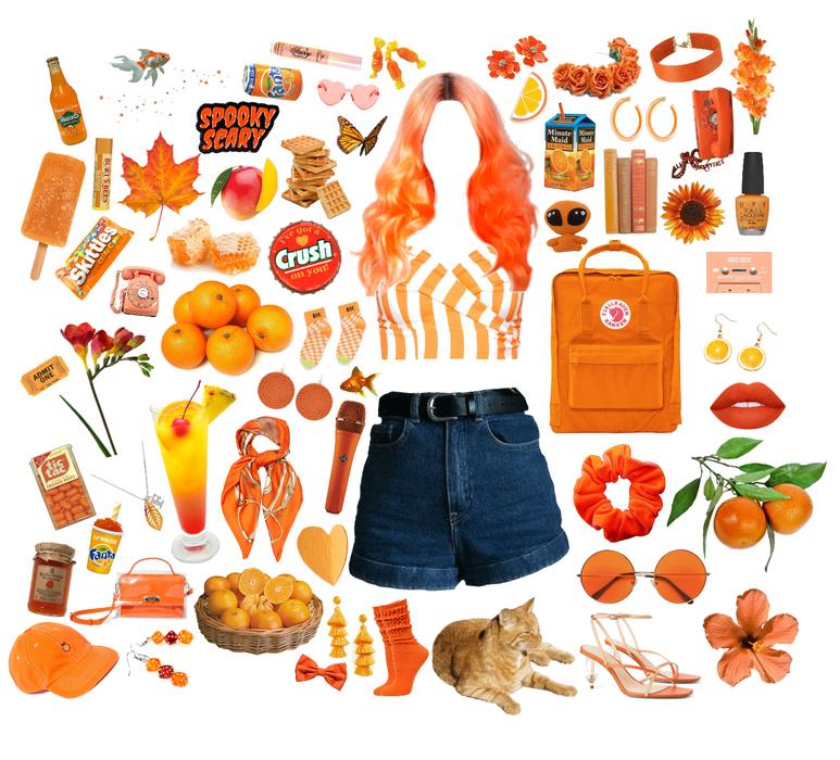 casual orange