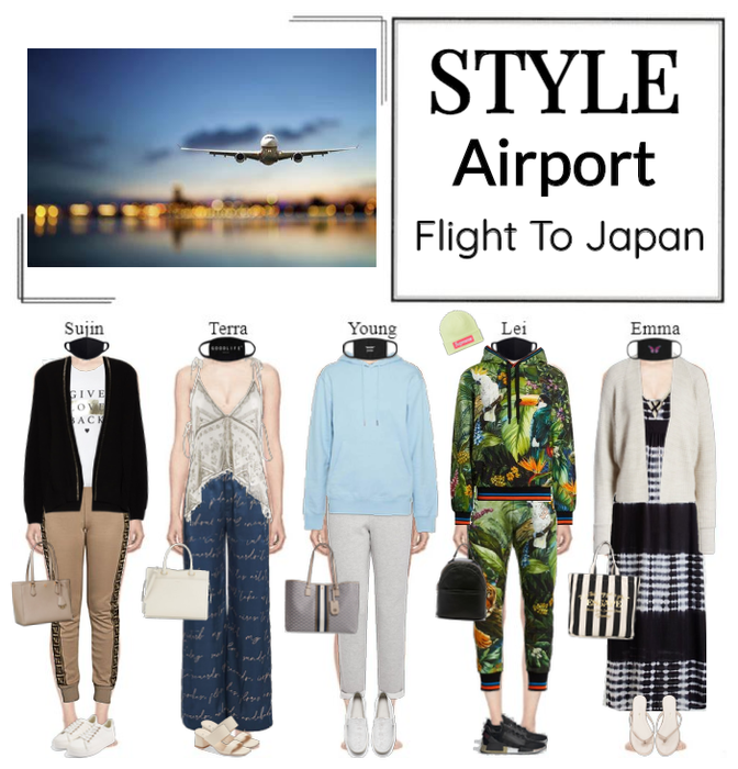STYLE At The Airport (Flight To Japan)