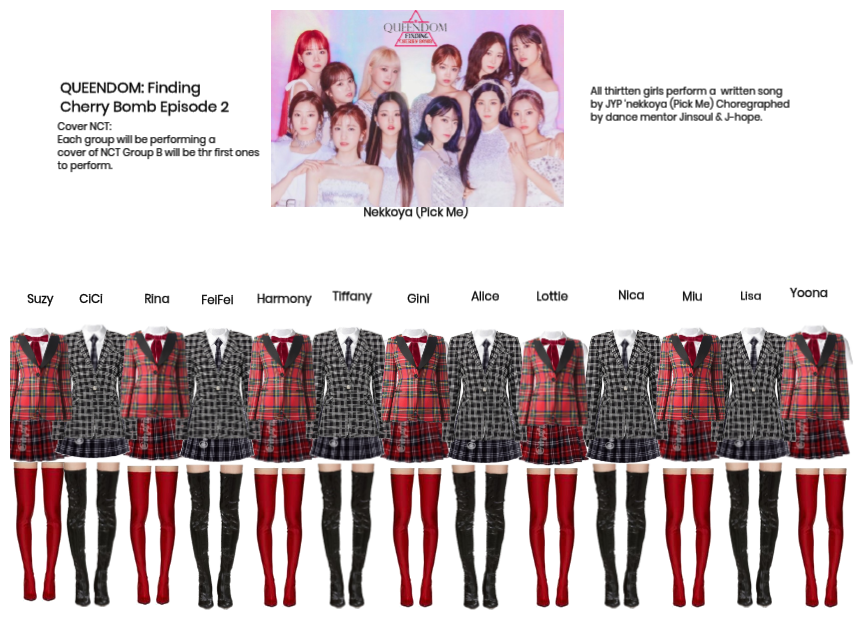 QUEENDOM: Finding Cherry Bomb Episode 2: NCT Pt1