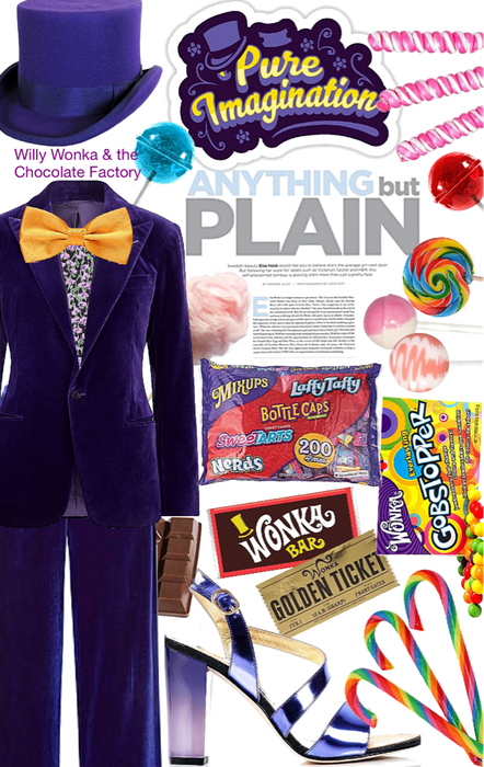 Willy Wonka & the Chocolate Factory Look