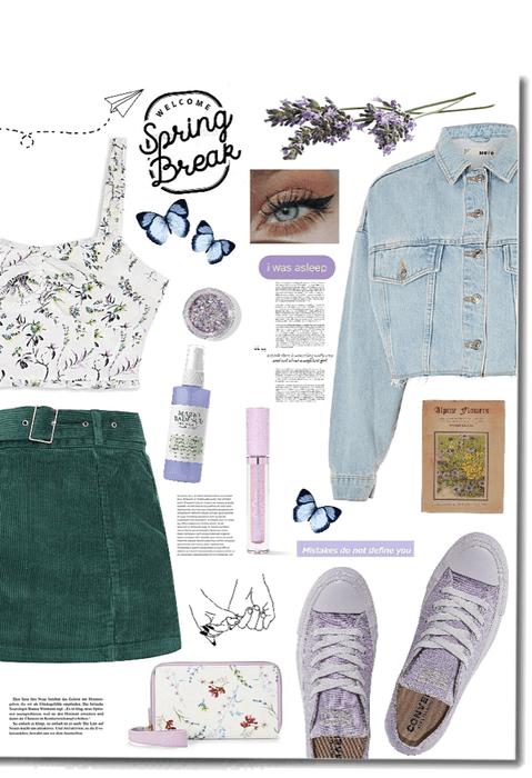 Lavender Waves