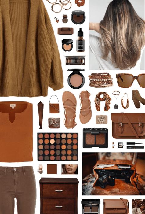 hazel brown.