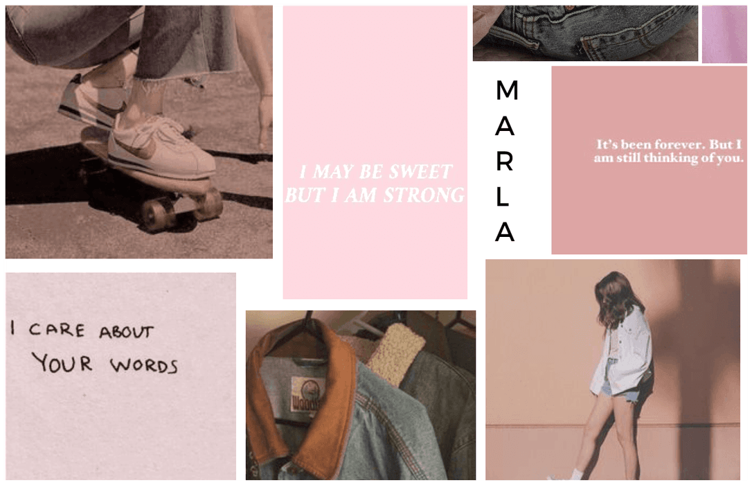 Name Aesthetic Board : Marla