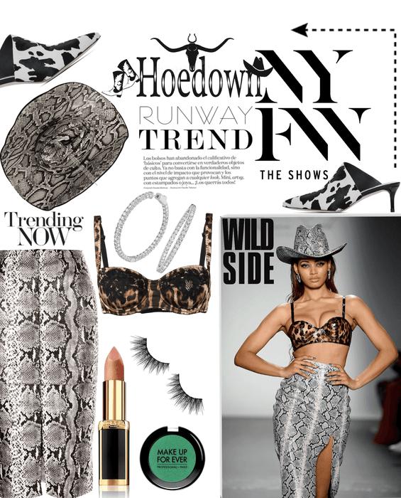 NYFW 2019 Hoedown Paper Magazine Issue