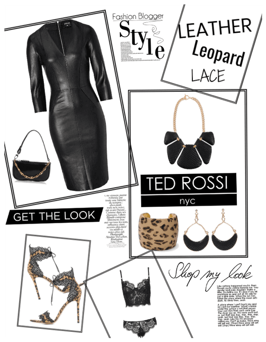 Leather leopard lace oh my