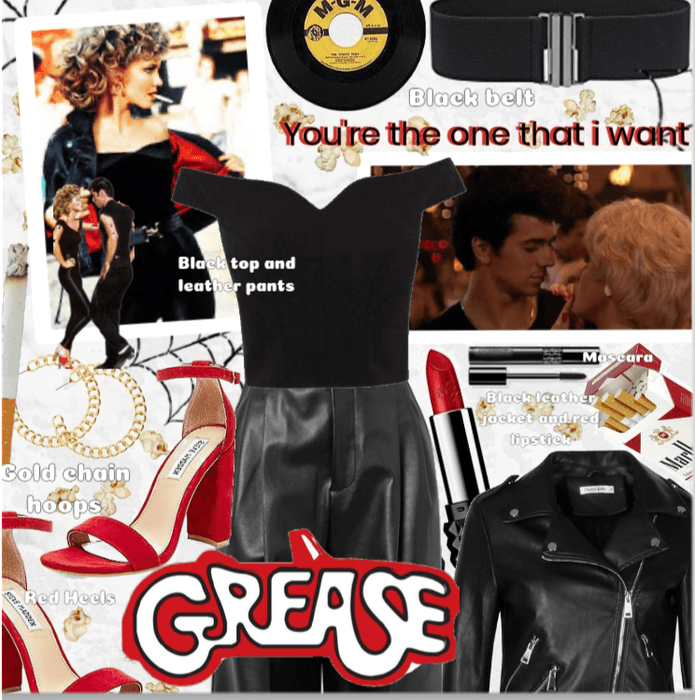 Grease ❤🖤
