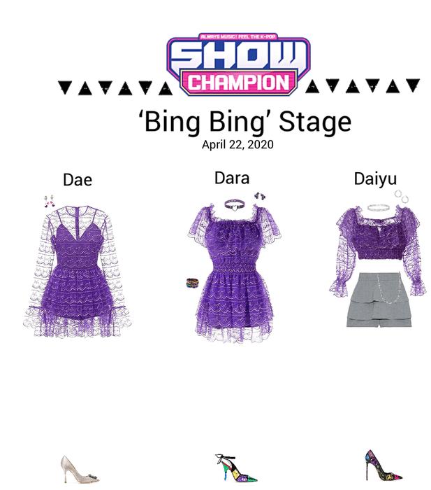 {3D}'Bing Bing' Show Champion Stage