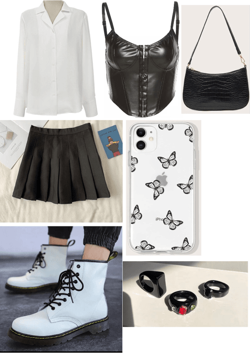 school outfit maybe 🖤