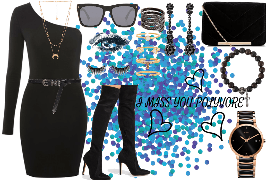 I MISS YOU POLYVORE