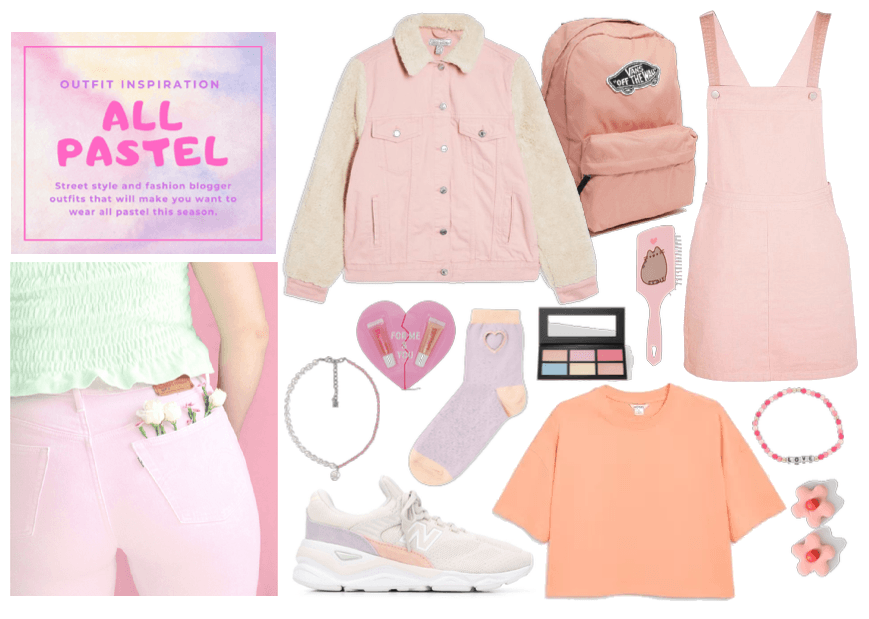All pastel: outfit inspo