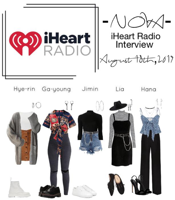 -NOVA- iHeart Radio Interview