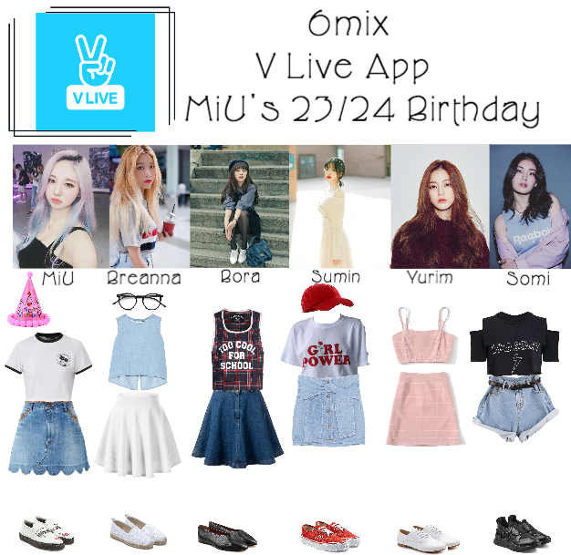 《6mix》V Live App: MiU's 23/24 Birthday