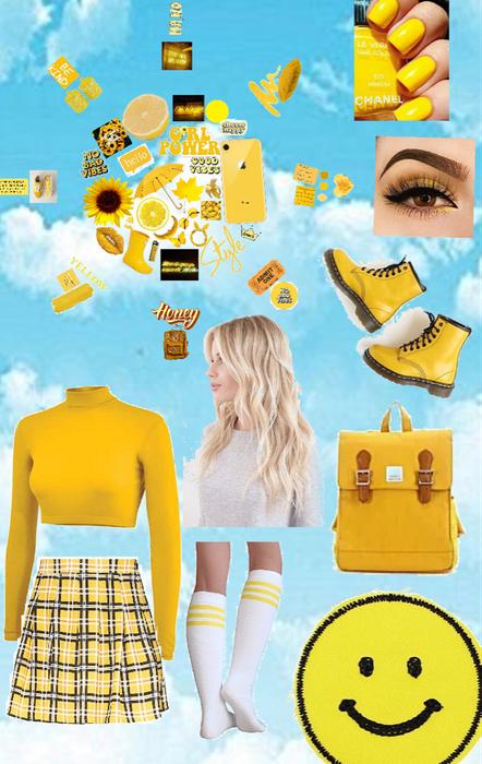 monochrome-yellow