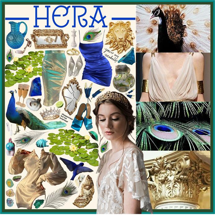GREEK MYTHOLOGY: Hera