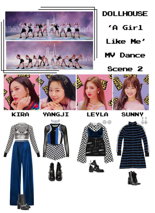 {DOLLHOUSE} 'A Girl Like Me' MV Dance Scene 2