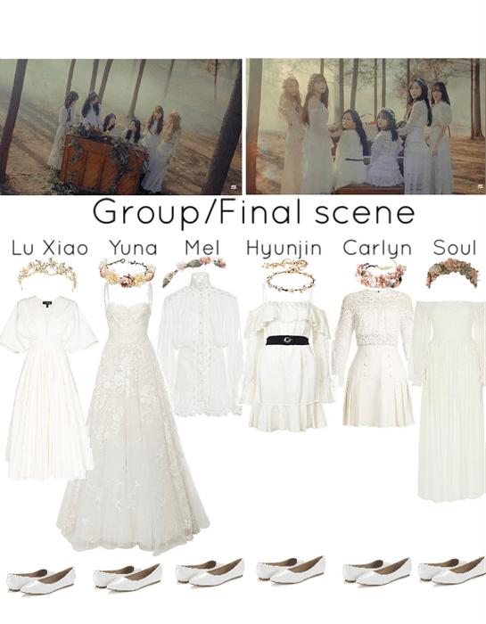 Secret MV- final group scene