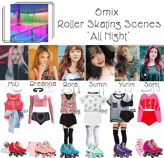 《6mix》'All Night' Music Video Filming