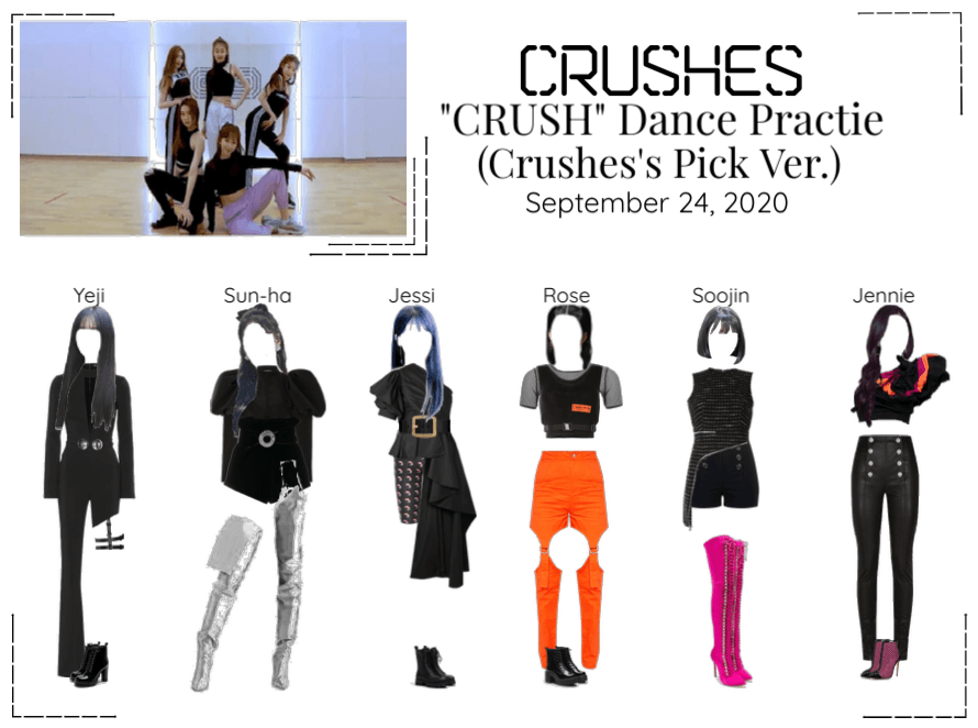 "Crushes (호감) ""Crush"" Dance Practice (Pick Ver.)"