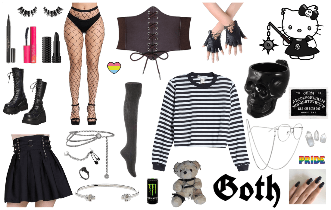 Alt/Goth Style Outfit