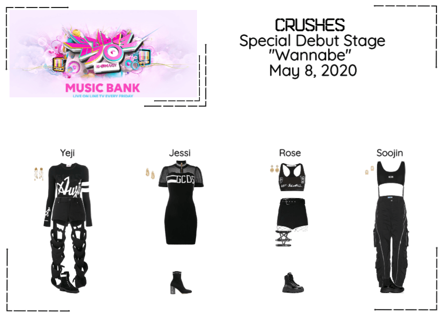 """Crushes (호감) """"Wannabe"""" Debut Stage"""
