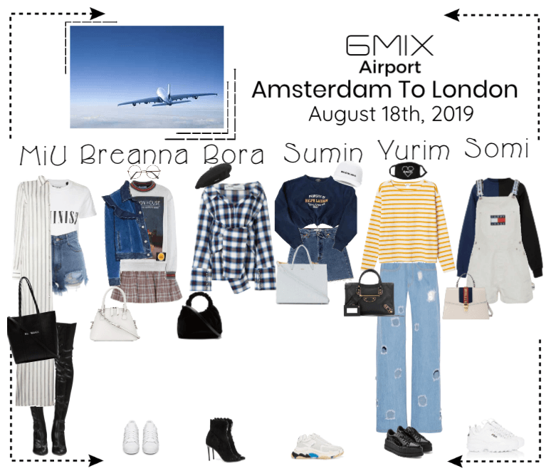 《6mix》Airport   Amsterdam To London