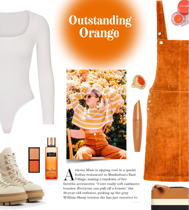 Outstanding Orange Outfit