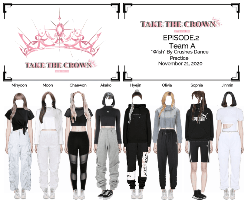 """""""Take The Crown"""" Ep.2 [Team A] Dance Practice"""