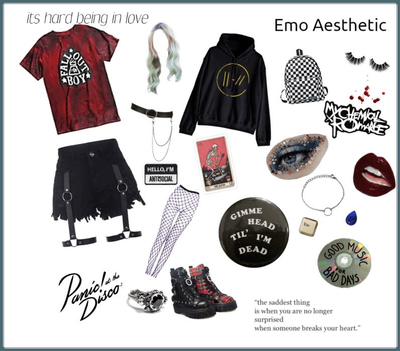 Emo Aesthetic
