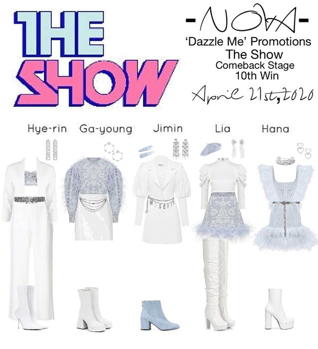 -NOVA- 'Dazzle Me' The Show Stage