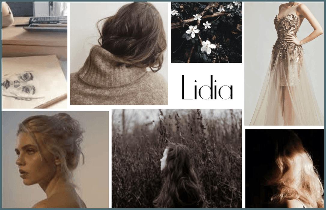 Name Aesthetic Board : Lidia