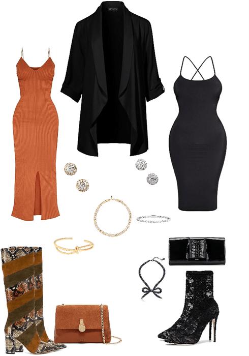 Dress & Boots🦋
