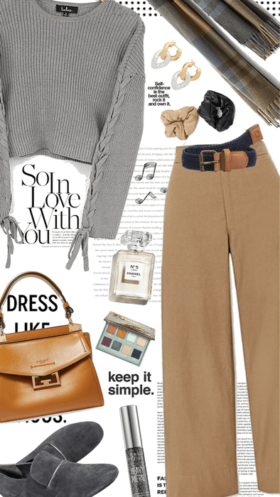 Camel and Gray Combo