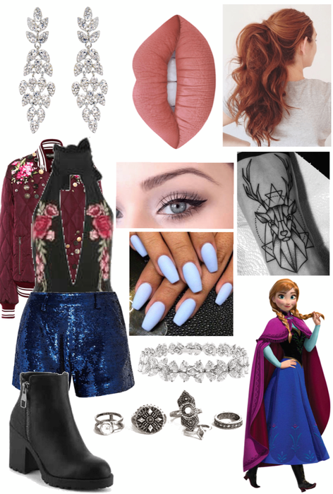 Anna (Frozen) Outfit