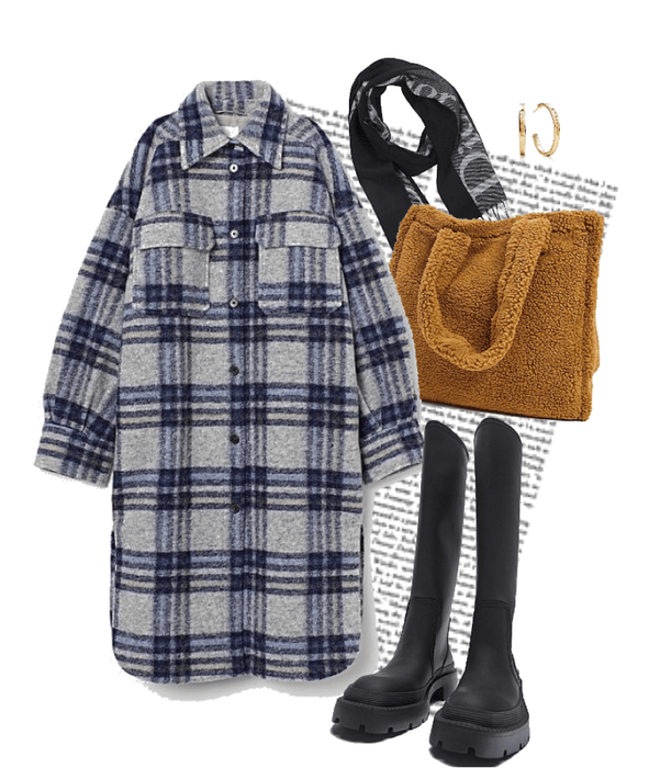 Comfy cosy winter outfit