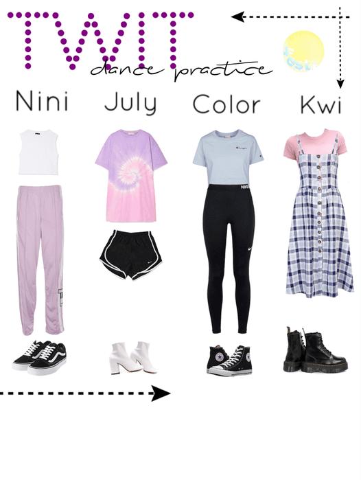 Twit||Dance Practice outfits||[4est]•