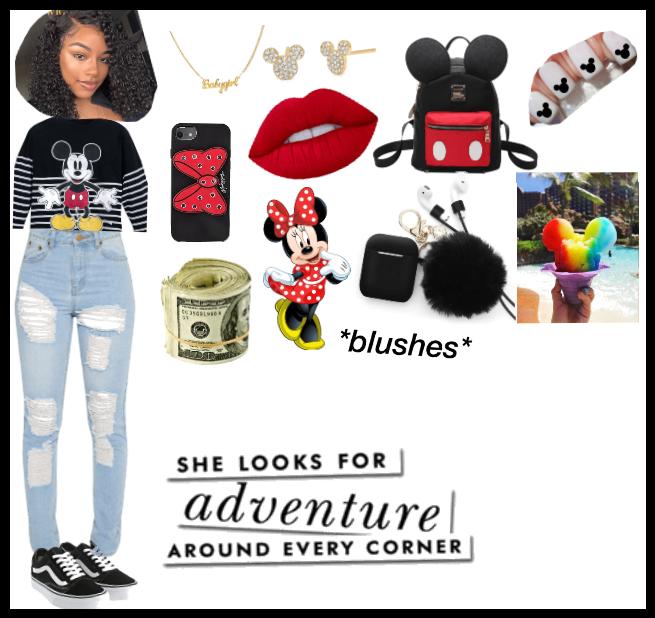 Simple and easy Disney look