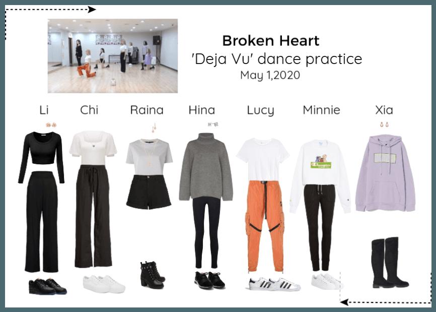 'Deja Vu' dance practice