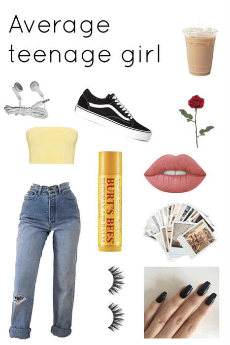 average teenage girl
