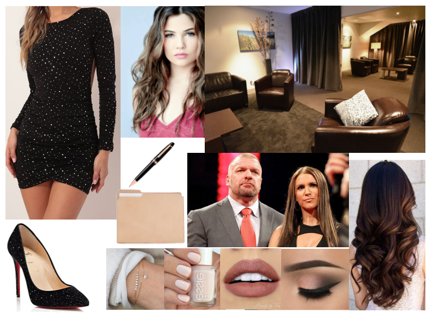 Meeting with Triple H and Stephanie